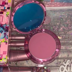 Brand new lime crime blush in Petal